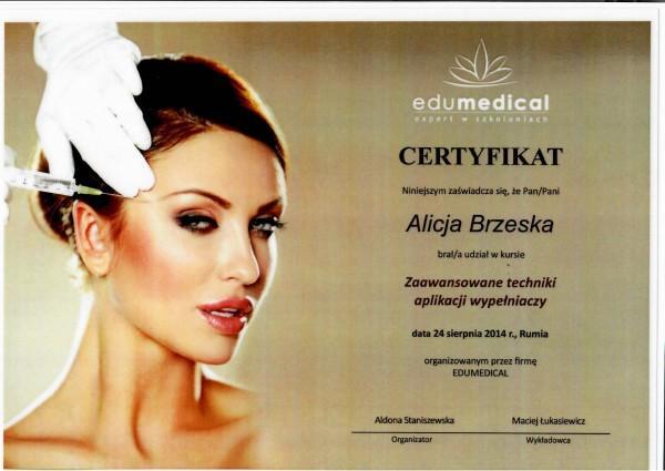 certyfikat edumedical