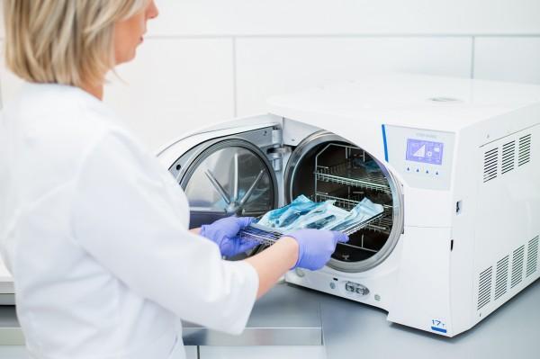 sterylność narzędzi dentystycznych